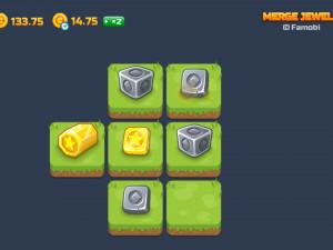 Онлайн игра Слияние Драгоценных Камней (Merge Jewels) (изображение №9)