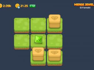 Онлайн игра Слияние Драгоценных Камней (Merge Jewels) (изображение №2)