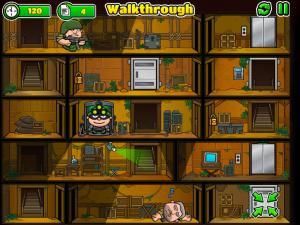 Онлайн игра Воришка Боб 3 (Bob The Robber 3) (изображение №2)