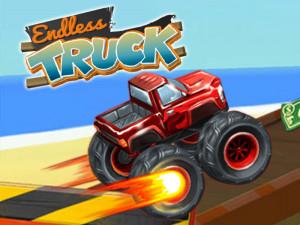 Онлайн игра Гоночный грузовик  (Endless Truck) (изображение №1)
