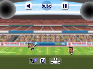 Онлайн игра Футбол Головами (Soccer Heads) (изображение №3)