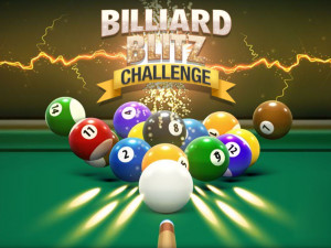 Онлайн игра Блиц Бильярд  (Billiard Blitz Challenge) (изображение №1)