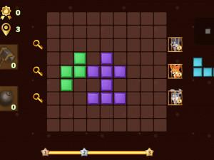 Онлайн игра Головоломка из блоков: Зоопарк (Blocks Puzzle Zoo) (изображение №3)