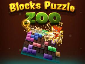 Головоломка из блоков: Зоопарк