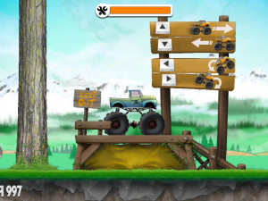 Онлайн игра Испытания Грузовиков (Truck Trials) (изображение №8)