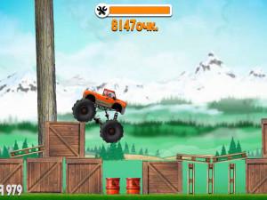 Онлайн игра Испытания Грузовиков (Truck Trials) (изображение №4)