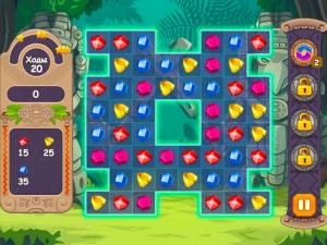 Онлайн игра Джевелс Блиц 3 (Jewels Blitz 3) (изображение №5)