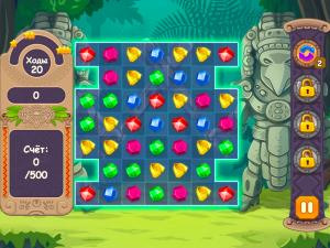 Онлайн игра Джевелс Блиц 3 (Jewels Blitz 3) (изображение №3)