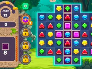 Онлайн игра Джевелс Блиц 4 (Jewels Blitz 4) (изображение №2)