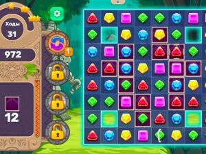 Онлайн игра Джевелс Блиц 4 (Jewels Blitz 4) (изображение №5)