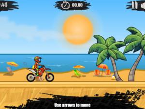 Онлайн игра Мото Х3М 1 (Moto X3M 1) (изображение №2)