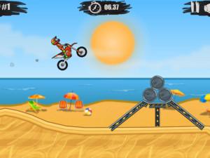 Онлайн игра Мото Х3М 1 (Moto X3M 1) (изображение №3)