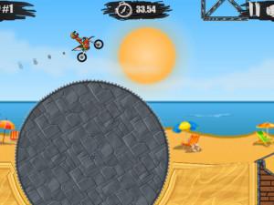 Онлайн игра Мото Х3М 1 (Moto X3M 1) (изображение №5)