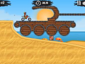 Онлайн игра Мото Х3М 1 (Moto X3M 1) (изображение №8)