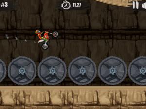 Онлайн игра Мото Х3М 1 (Moto X3M 1) (изображение №11)