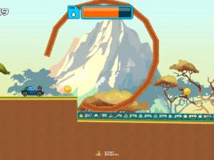 Онлайн игра Гонка на высокой горе (High Hills) (изображение №13)