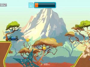 Онлайн игра Гонка на высокой горе (High Hills) (изображение №11)