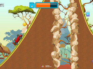 Онлайн игра Гонка на высокой горе (High Hills) (изображение №9)