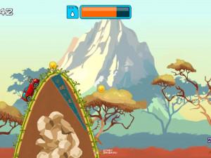 Онлайн игра Гонка на высокой горе (High Hills) (изображение №8)