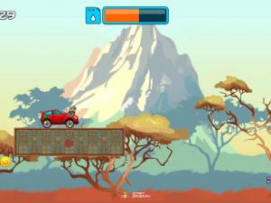 Онлайн игра Гонка на высокой горе (High Hills) (изображение №7)