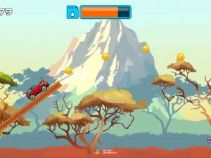 Онлайн игра Гонка на высокой горе (High Hills) (изображение №6)