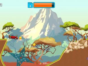 Онлайн игра Гонка на высокой горе (High Hills) (изображение №5)