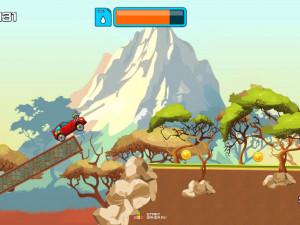 Онлайн игра Гонка на высокой горе (High Hills) (изображение №3)