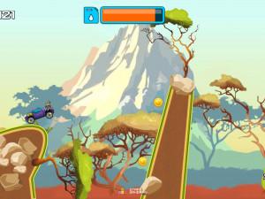 Онлайн игра Гонка на высокой горе (High Hills) (изображение №14)