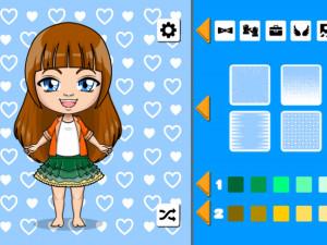 Онлайн игра Каваи Чиби (Kawaii Chibi Creator) (изображение №2)