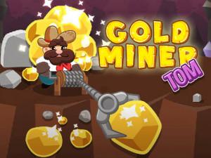 Онлайн игра Золотоискатель Том (Gold Miner Tom) (изображение №1)