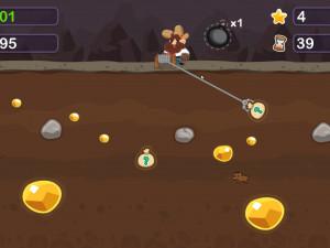 Онлайн игра Золотоискатель Том (Gold Miner Tom) (изображение №4)