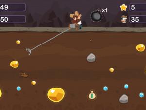 Онлайн игра Золотоискатель Том (Gold Miner Tom) (изображение №5)