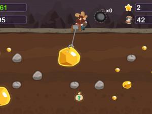 Онлайн игра Золотоискатель Том (Gold Miner Tom) (изображение №6)