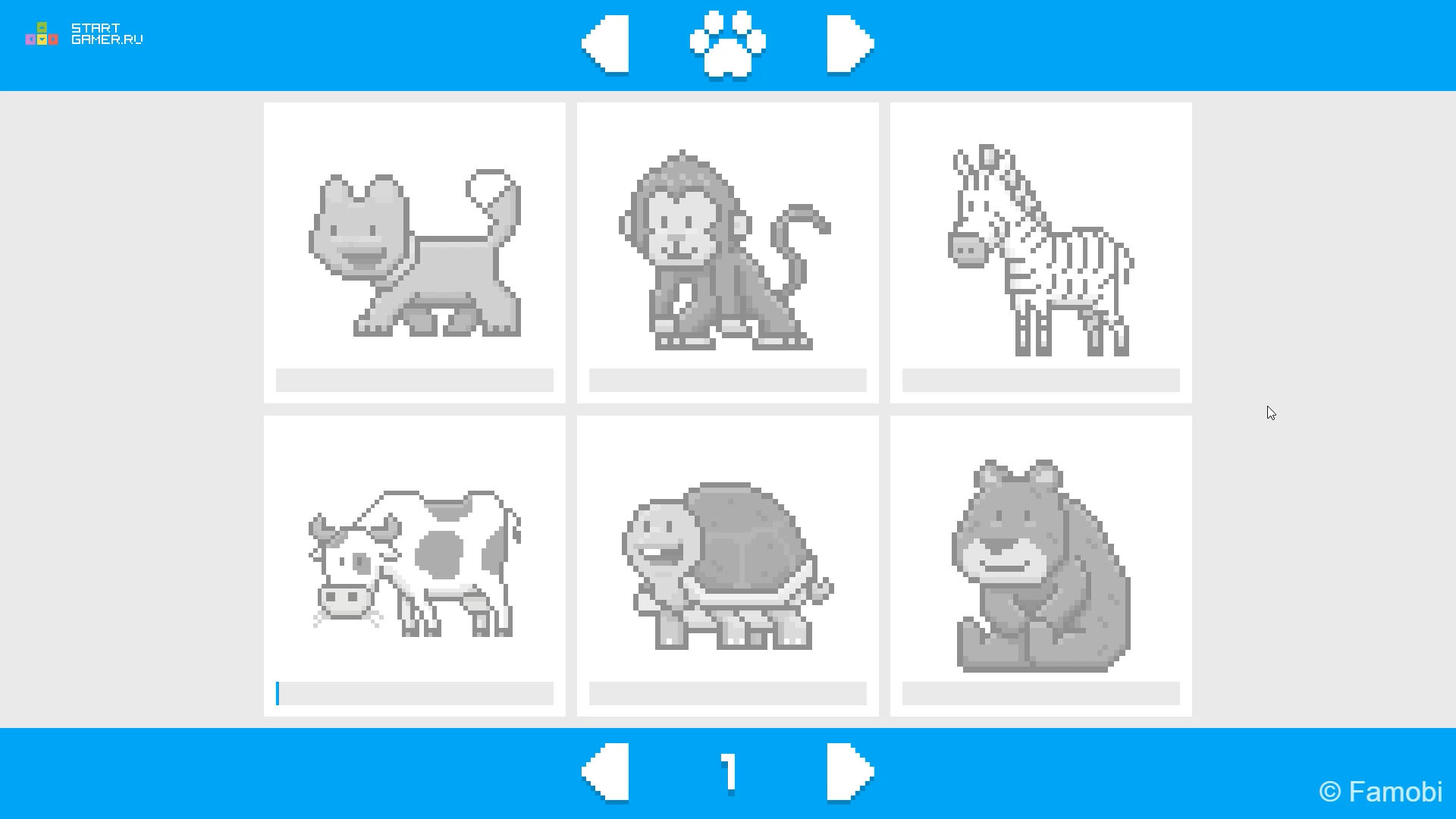 Онлайн игра Пиксельная Графика: Раскраска по номерам ...