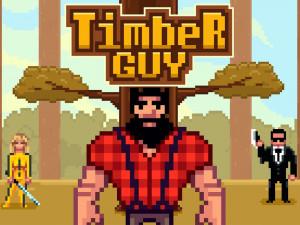 Онлайн игра Дровосек  (Timber Guy) (изображение №1)