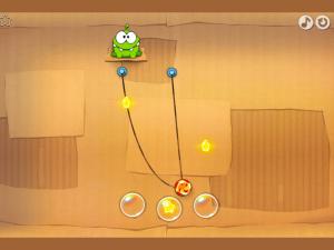 Онлайн игра Ам Ням (Cut The Rope) (изображение №2)