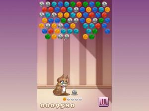 Онлайн игра Клубочки Китти (Kitty Bubbles) (изображение №3)