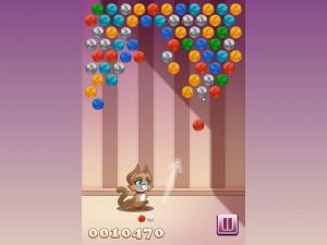 Онлайн игра Клубочки Китти (Kitty Bubbles) (изображение №4)