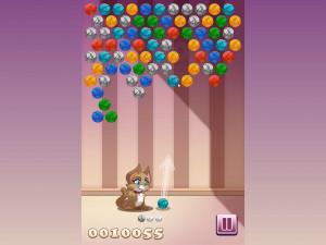 Онлайн игра Клубочки Китти (Kitty Bubbles) (изображение №5)