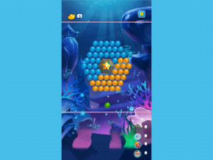 Онлайн игра Морские пузыри (Sea Bubble Shooter) (изображение №4)
