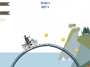 Онлайн игра Бейкер стрит (Biker Street) (изображение №4)