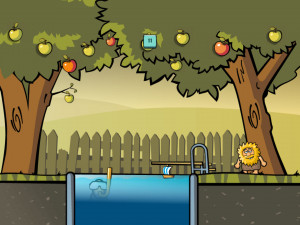 Онлайн игра Адам и Ева: Адам призрак (Adam and Eve: Adam the ghost) (изображение №3)