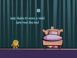 Онлайн игра Адам и Ева: Адам призрак (Adam and Eve: Adam the ghost) (изображение №4)