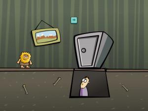Онлайн игра Адам и Ева: Адам призрак (Adam and Eve: Adam the ghost) (изображение №5)