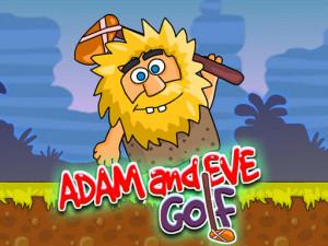 Онлайн игра Адам и Ева: Гольф (Adam and Eve: Golf) (изображение №1)