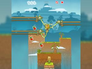 Онлайн игра Адам и Ева: Змеиные оковы (Adam and Eve: Сut the ropes) (изображение №2)