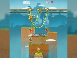 Онлайн игра Адам и Ева: Змеиные оковы (Adam and Eve: Сut the ropes) (изображение №6)