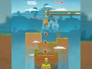 Онлайн игра Адам и Ева: Змеиные оковы (Adam and Eve: Сut the ropes) (изображение №8)
