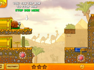 Онлайн игра Улитка Боб 3: Египет (Snail Bob 3: Egypt) (изображение №2)
