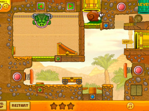 Онлайн игра Улитка Боб 3: Египет (Snail Bob 3: Egypt) (изображение №4)